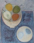 Still Life with Apples and Eggs by Vivienne Williams RCA
