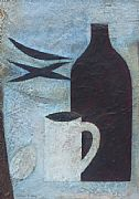 Still Life with Bottle and Egg by Vivienne Williams RCA