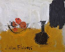Still Life with Oranges by John Evans