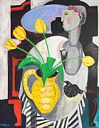 Still Life with Yellow Jug by Naomi Munuo
