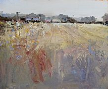 Stubble Fields by Robert Newton