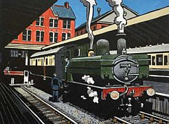 Sunday Working Merthyr (Green livery) by Trevor Sowden