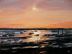 Sunset, West Mersea by David Porteous-Butler