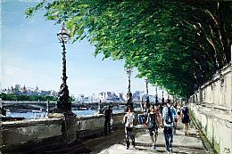 Thames at Westminster by David Porteous-Butler
