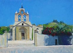 The Church, Banyuls sur Mer by Mats Rydstern