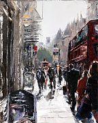 The Strand, September Evening 2 by David Porteous-Butler