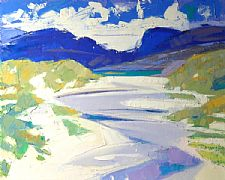 The Path to Luskintyre, Harris by Marion Thomson