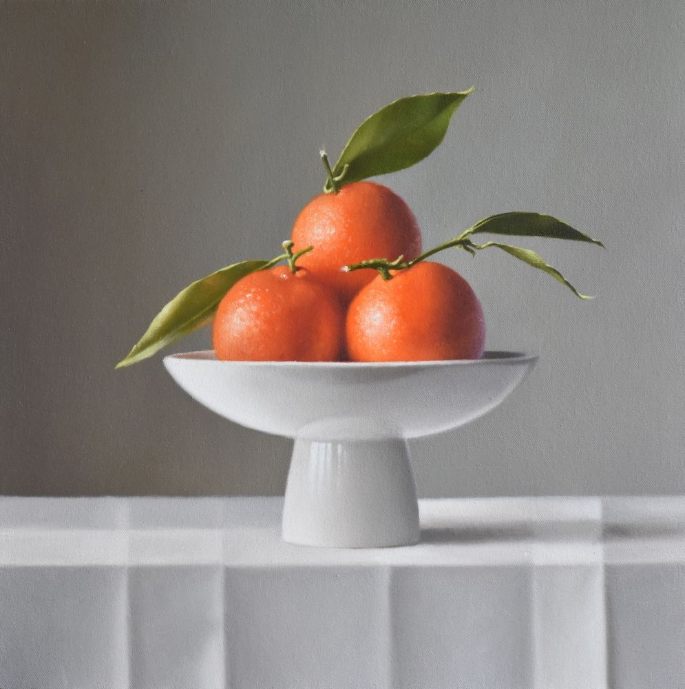 Three Clementines  by Lucy  McKie ROI