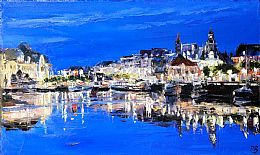 Trouville-sur-Mer, Le Port by David Porteous-Butler