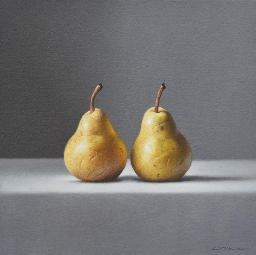 Two Golden Pears