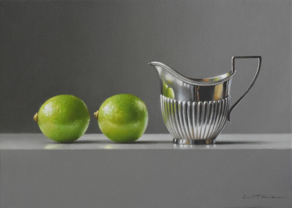 Two Limes with Silver Jug