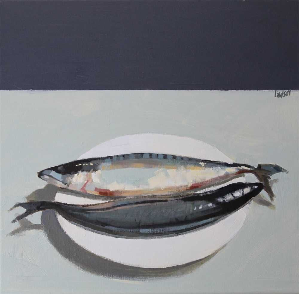 Two Mackerel  by Steven Lindsay