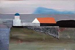Wee Cumbrae Lightouse by Euan McGregor PAI