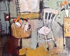 White Chair by John Evans
