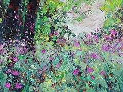 Wild Flowers Under the Trees by Sylvia Paul