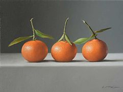 Winter Clementines by Lucy  McKie ROI