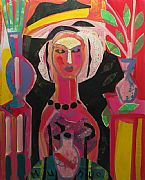 Woman in Conservatory by Naomi Munuo