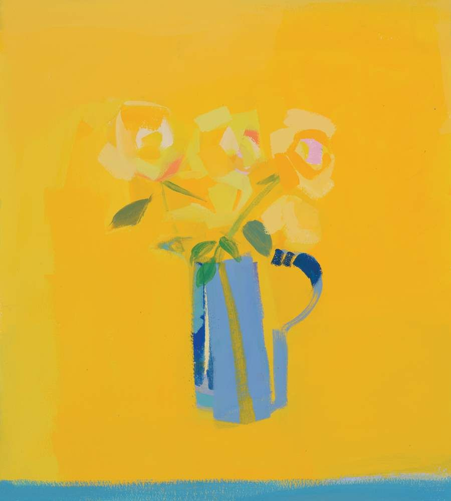 Yellow Roses by Claire Harrigan RSW