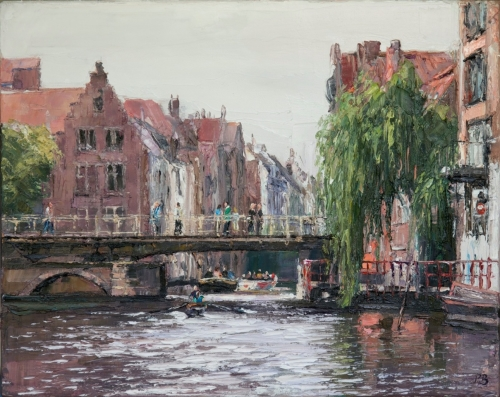Zuivel Brug  by David Porteous-Butler
