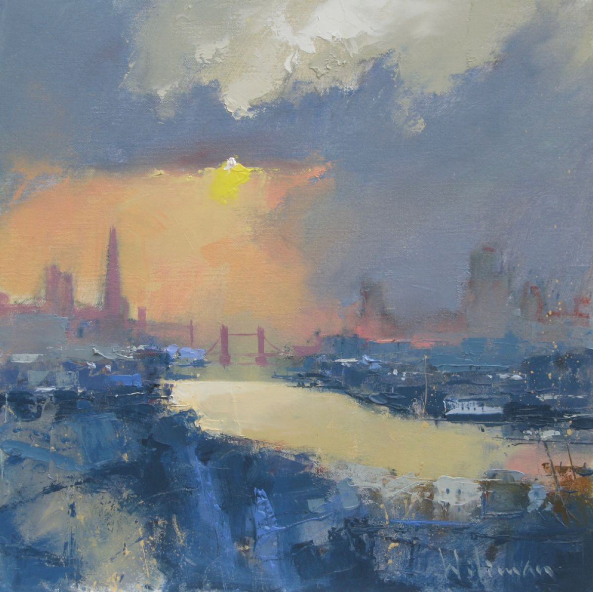 Autumn Light over the Thames