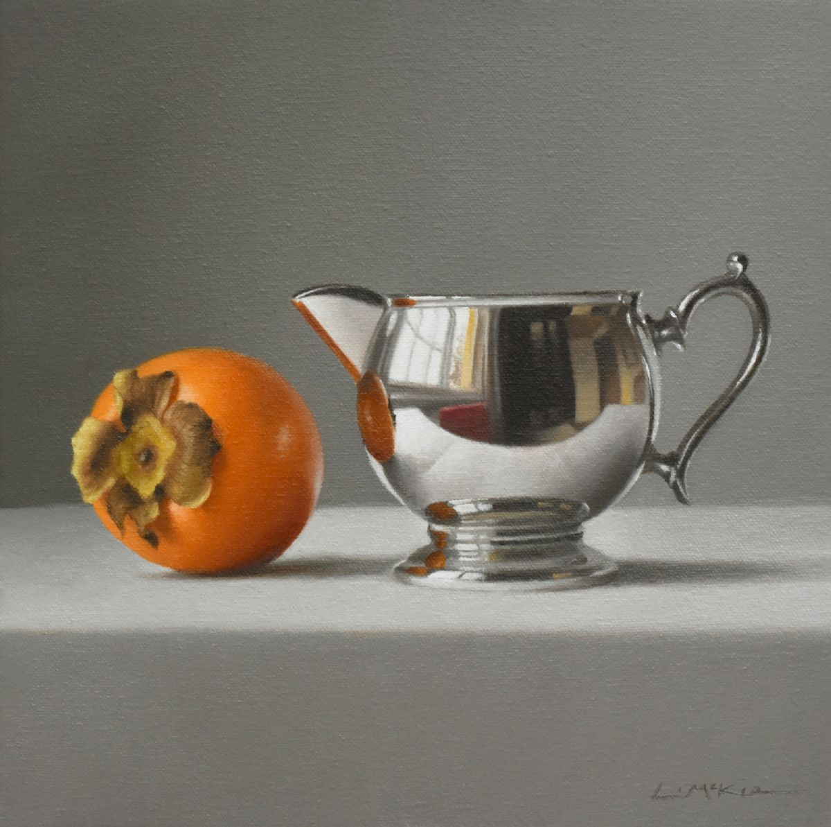 Persimmon with Jug