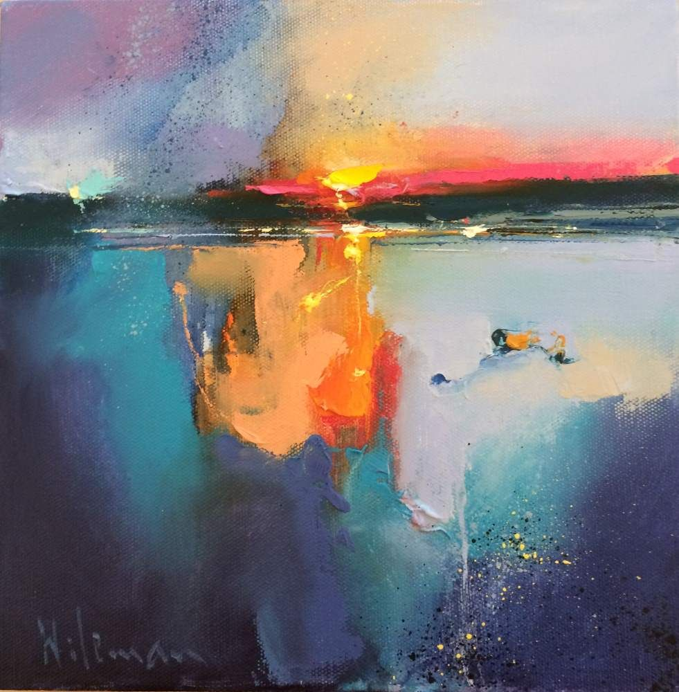 Shimmering Sands II by Peter Wileman FROI RSMA FRSA