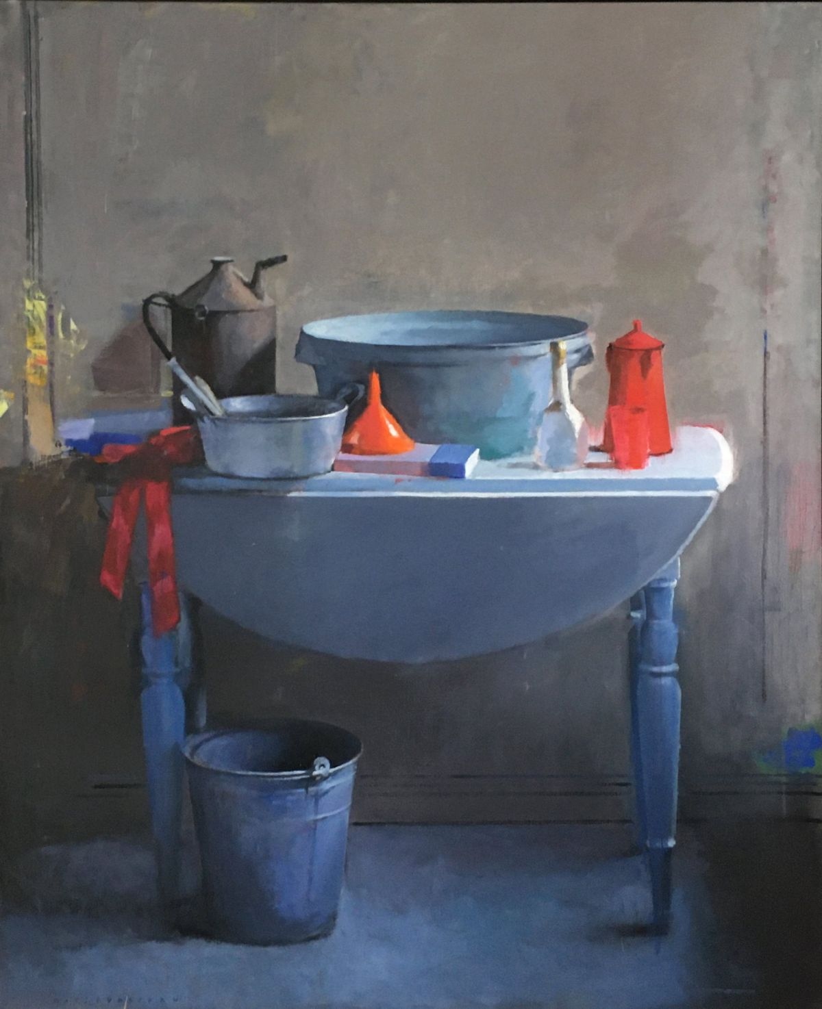 Still Life with a Zinc Bucket