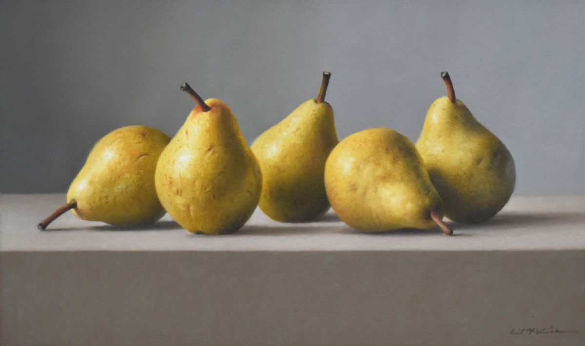 Still Life with Italian Pears