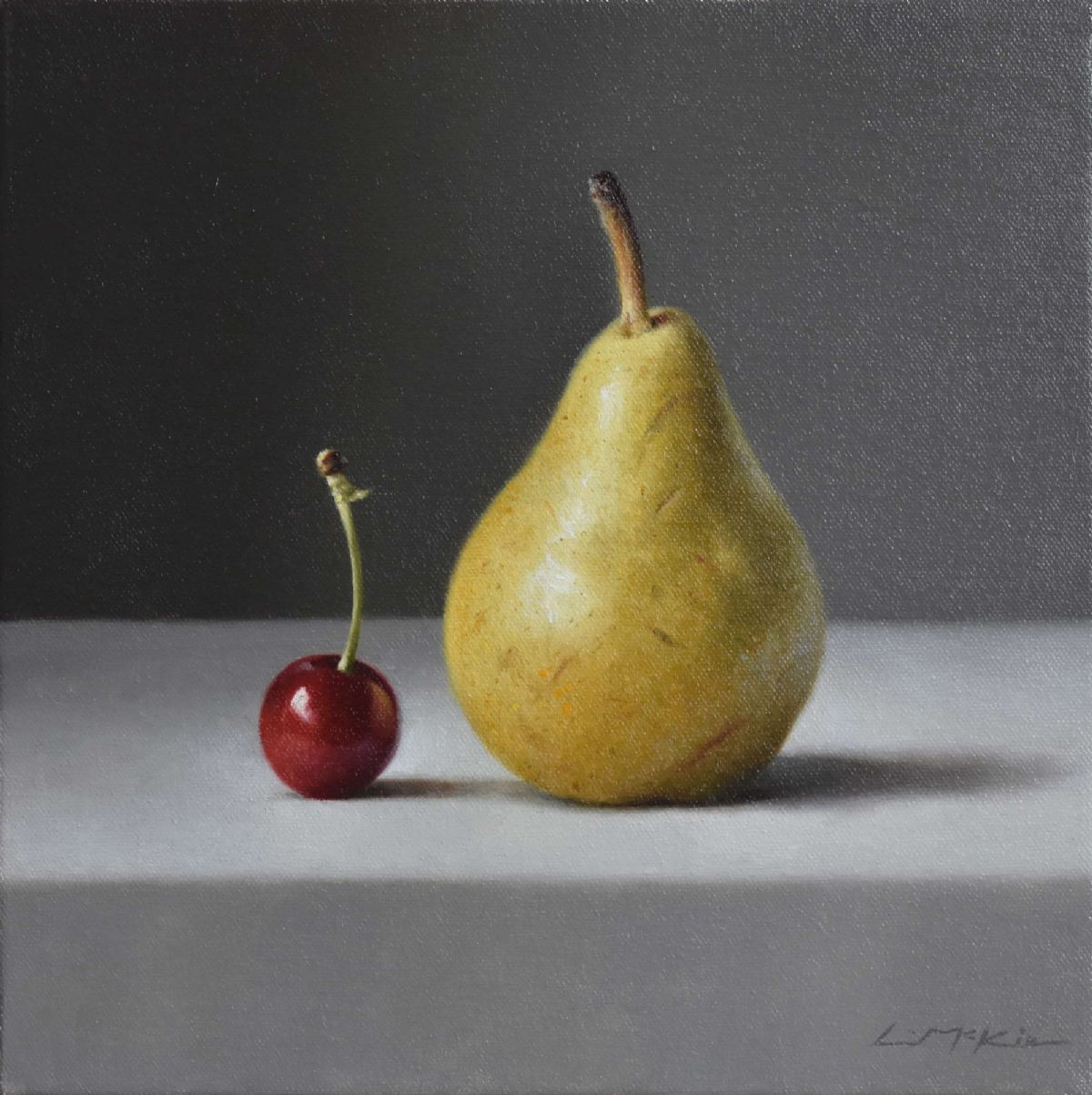 Still life with July Cherry