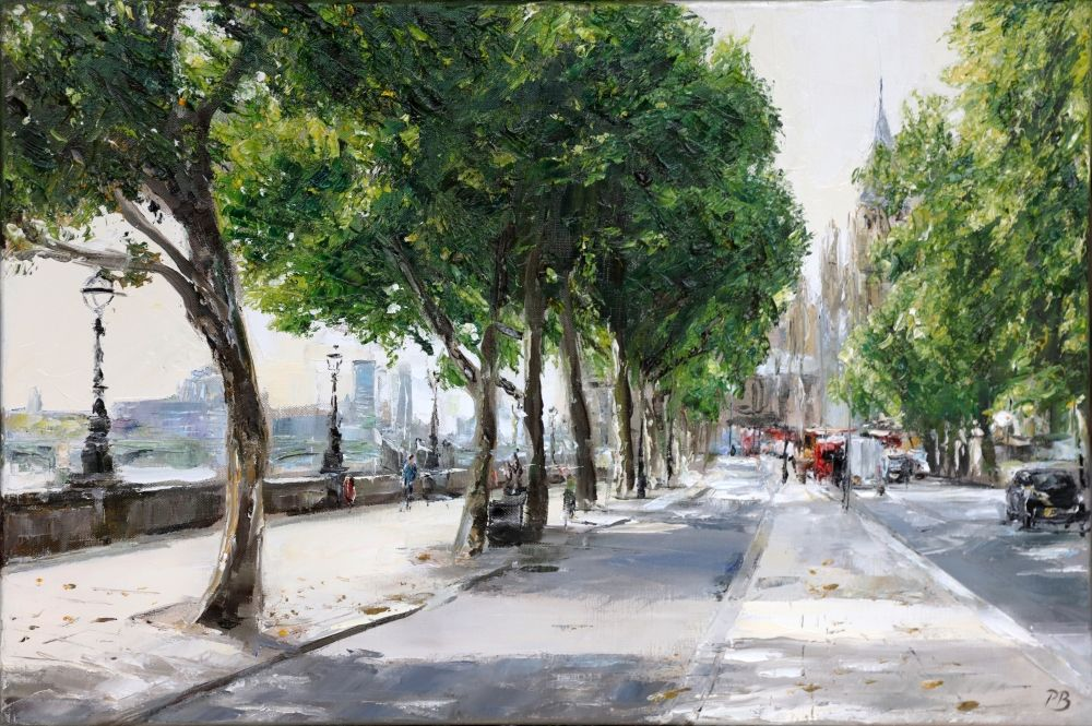 Victoria Embankment  by David Porteous-Butler