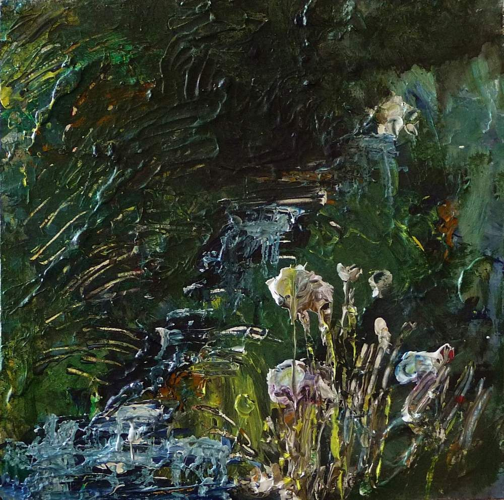 Wells of Arthur's Seat, Stream and Flowers